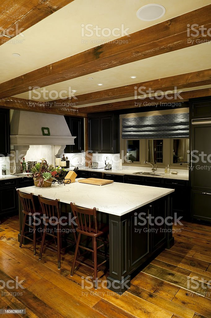 modern kitchen home interior royalty-free stock photo