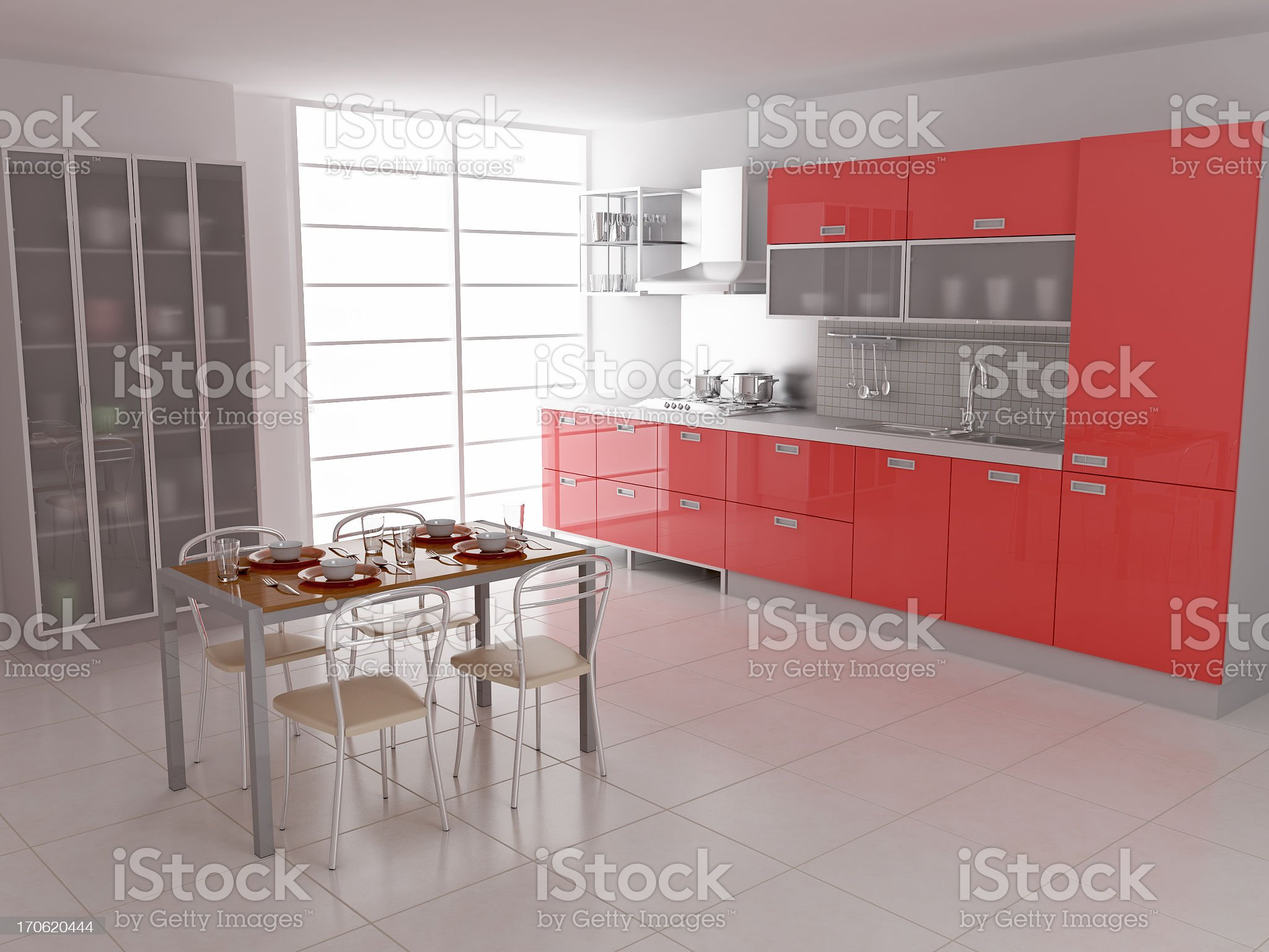 Modern Kitchen I royalty-free stock photo