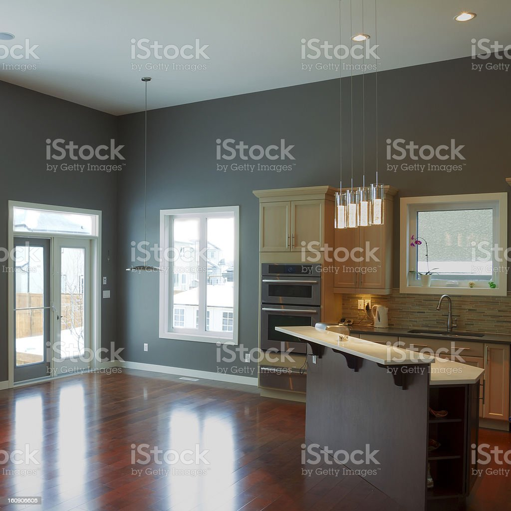 Modern Kitchen Interior Design royalty-free stock photo