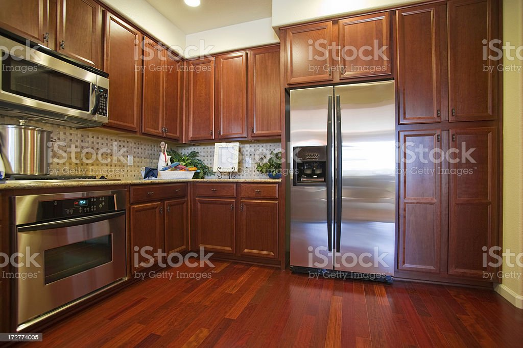 Modern Kitchen royalty-free stock photo