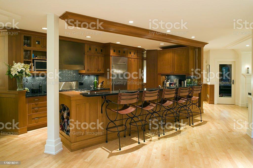 modern kitchen renovate royalty-free stock photo