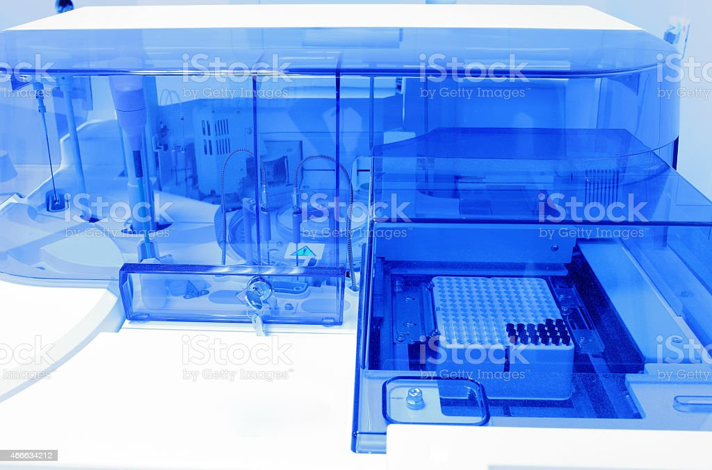 modern laboratory equipment. stock photo