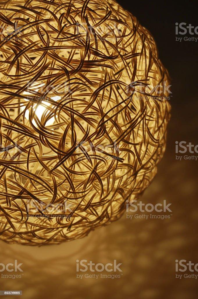 modern lamp shade royalty-free stock photo