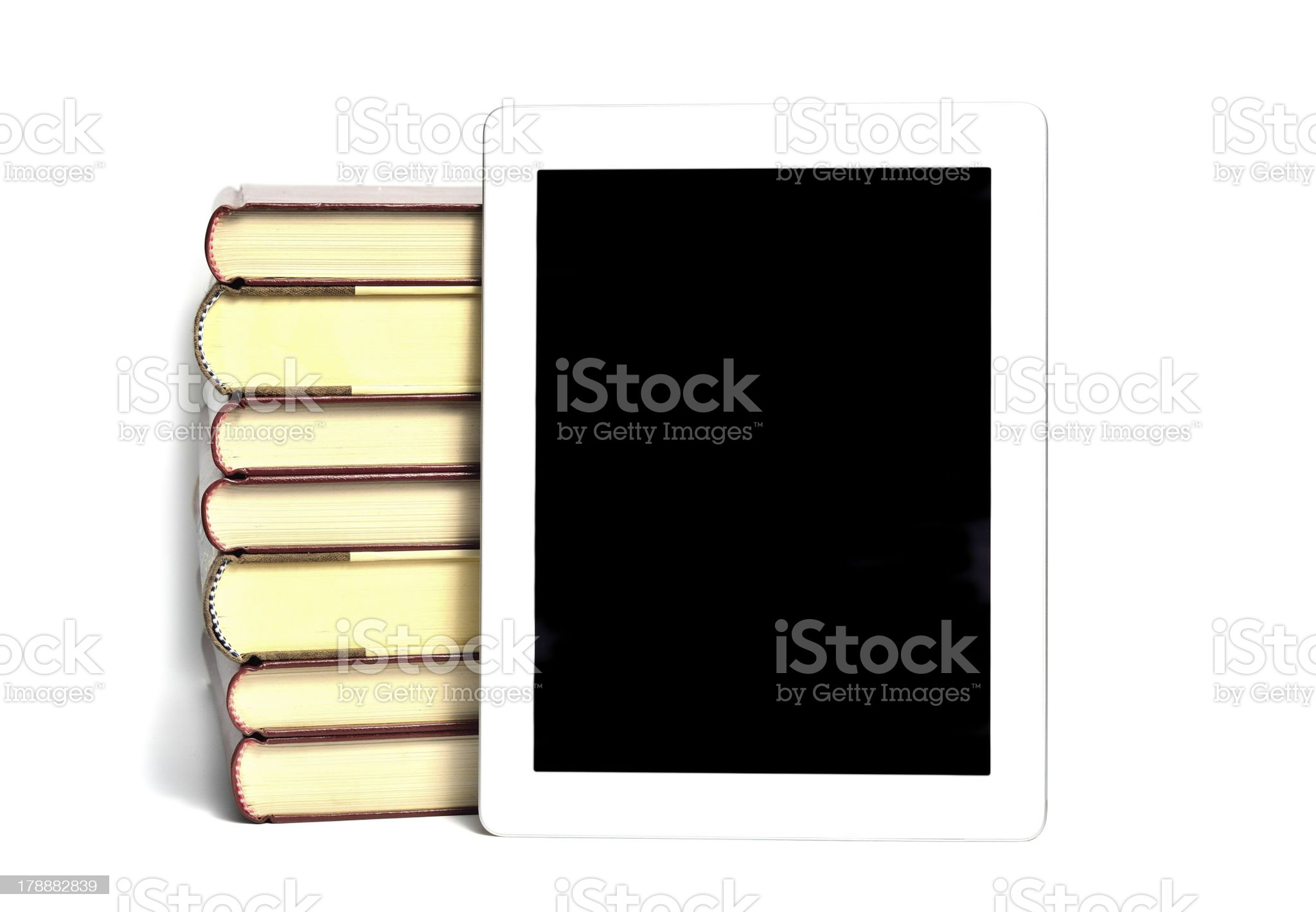 Modern learning royalty-free stock photo