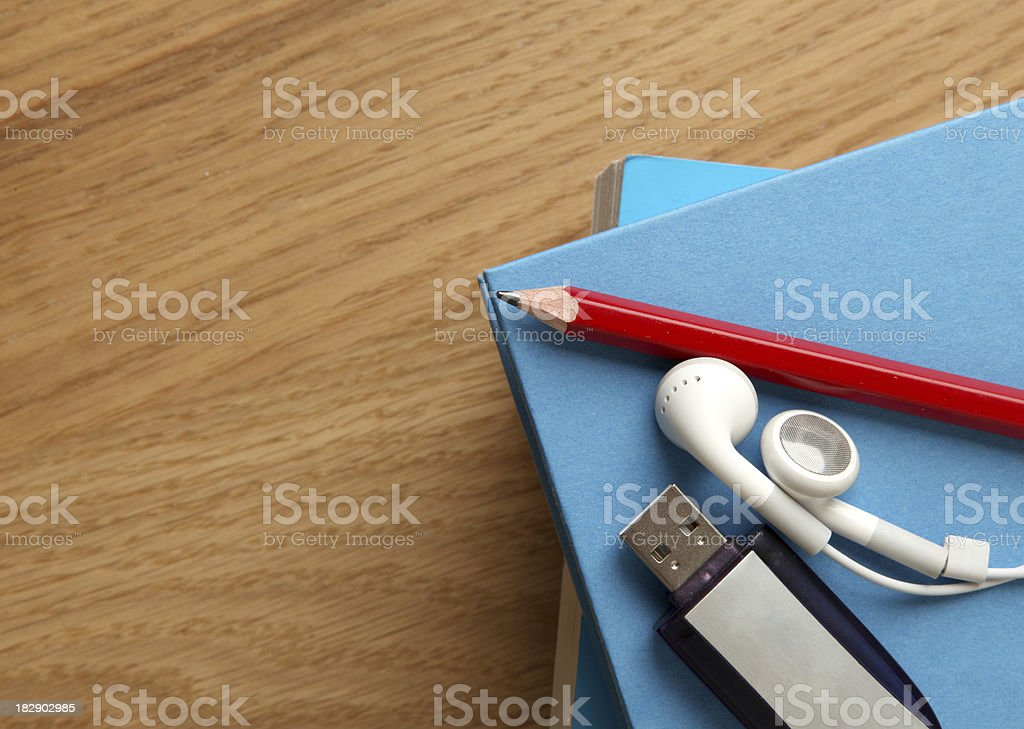 Modern learning stock photo