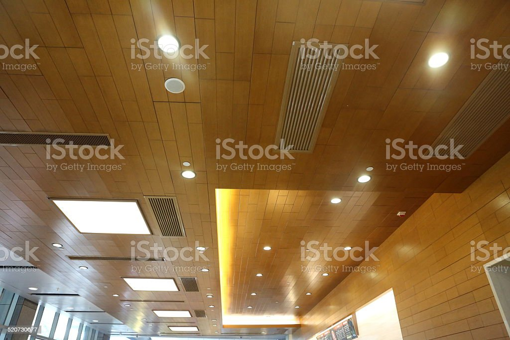 Modern LED Ceiling Lighting stock photo