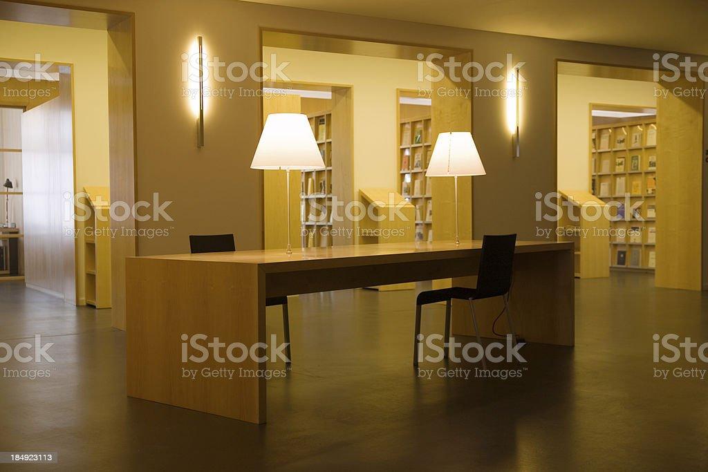 modern library stock photo