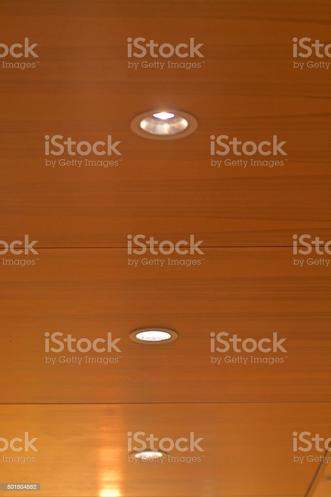 Modern lighting stock photo