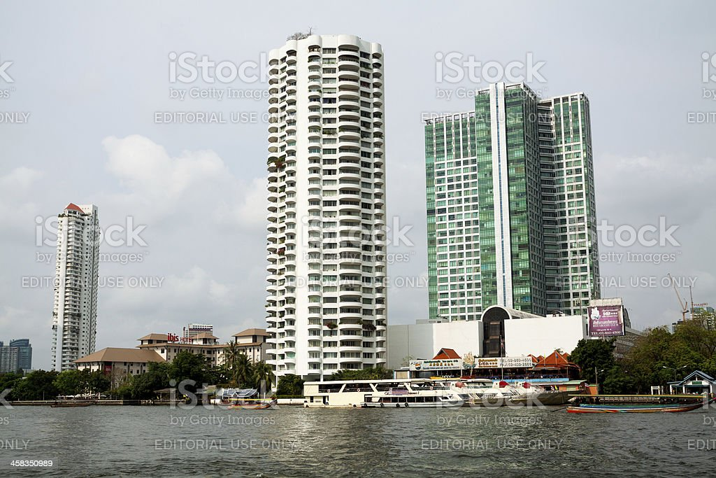 Modern living in Bangkok stock photo