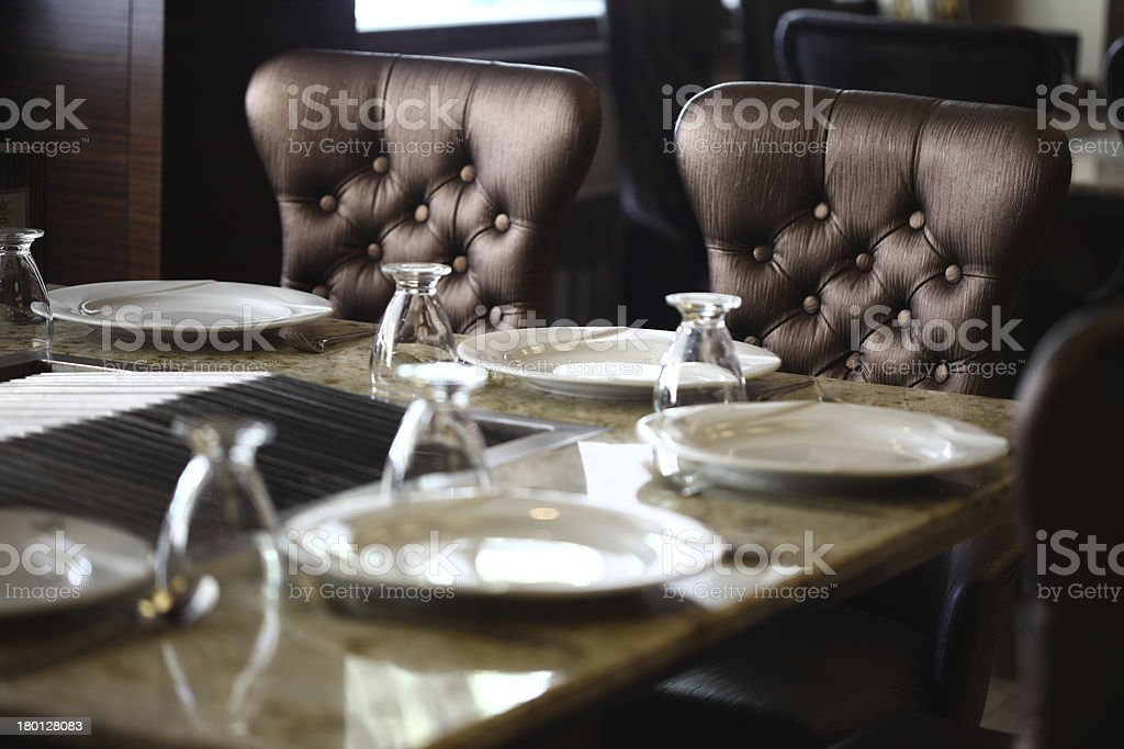 Modern living room design royalty-free stock photo