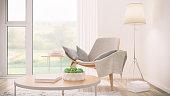 Modern living room detail