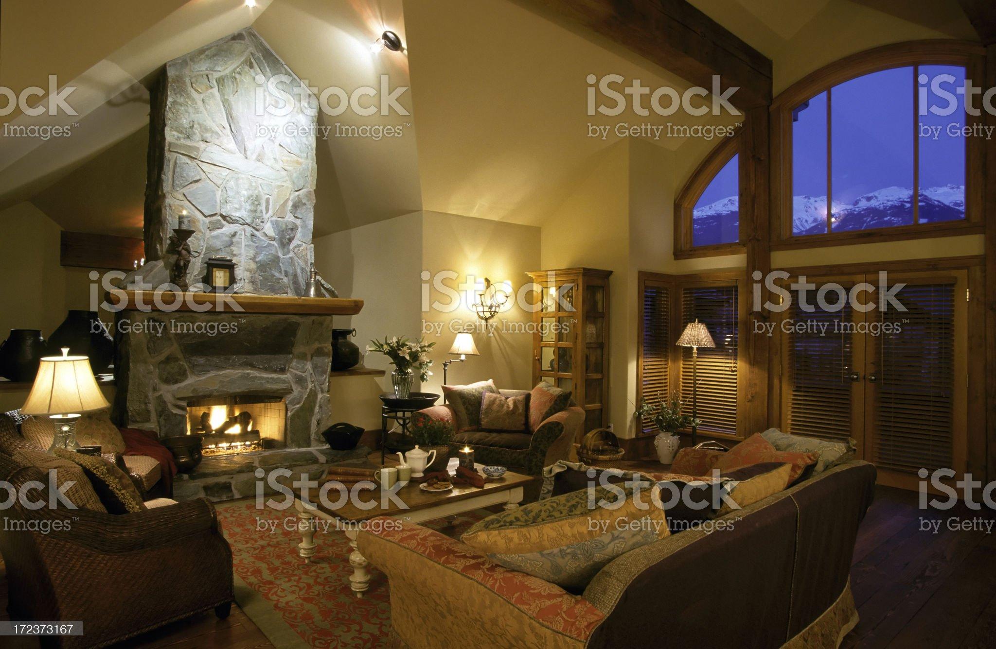 modern living room house interior royalty-free stock photo