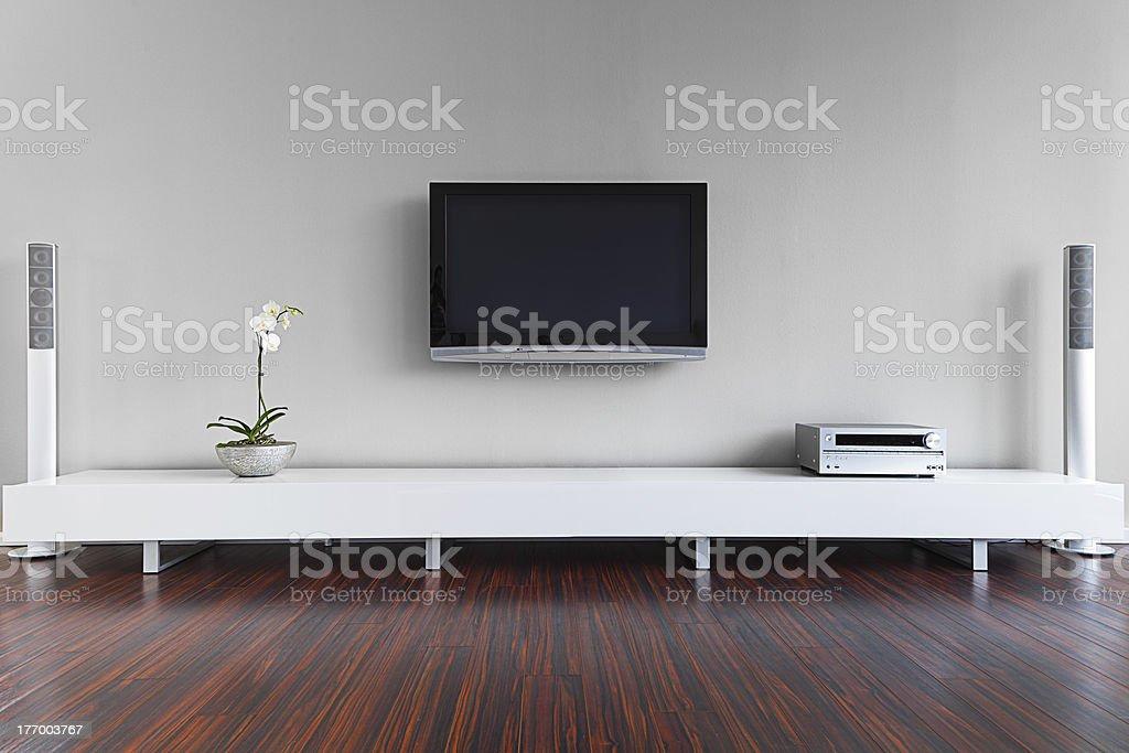 Modern Living Room Interior stock photo