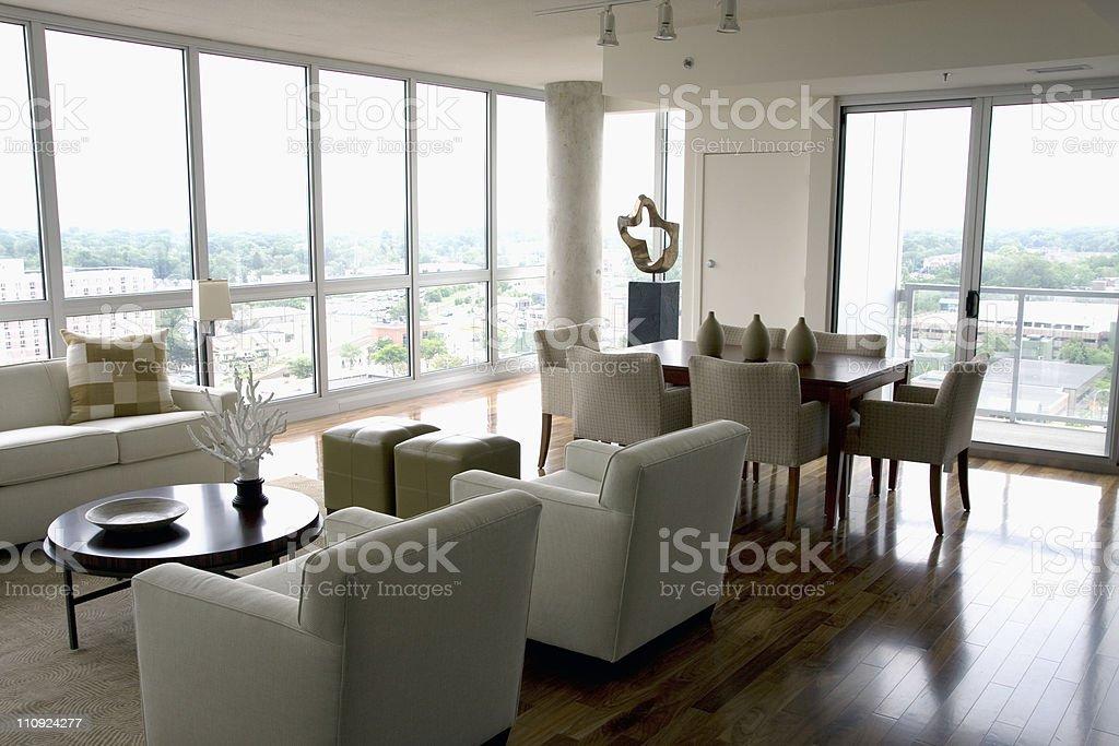 Modern Livingroom royalty-free stock photo
