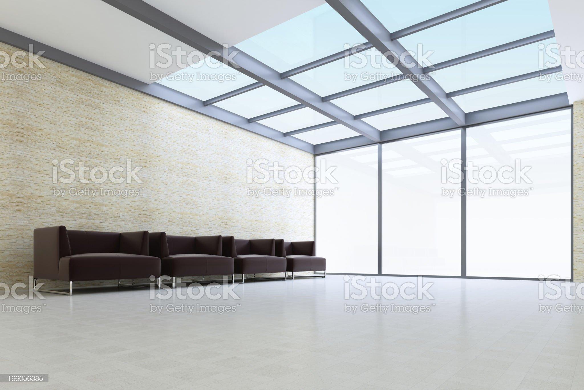 Modern Lounge Room royalty-free stock photo