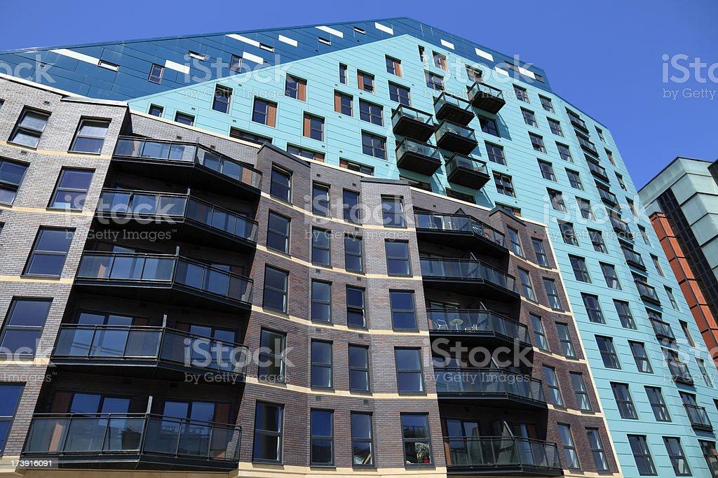 Modern luxury apartments royalty-free stock photo