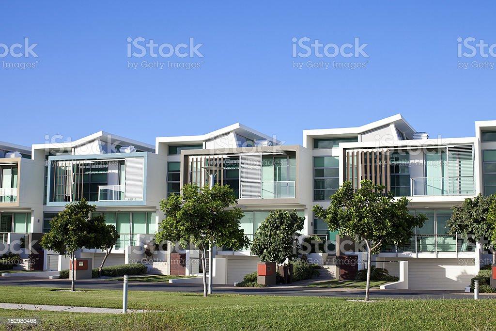Modern Luxury Apartments stock photo