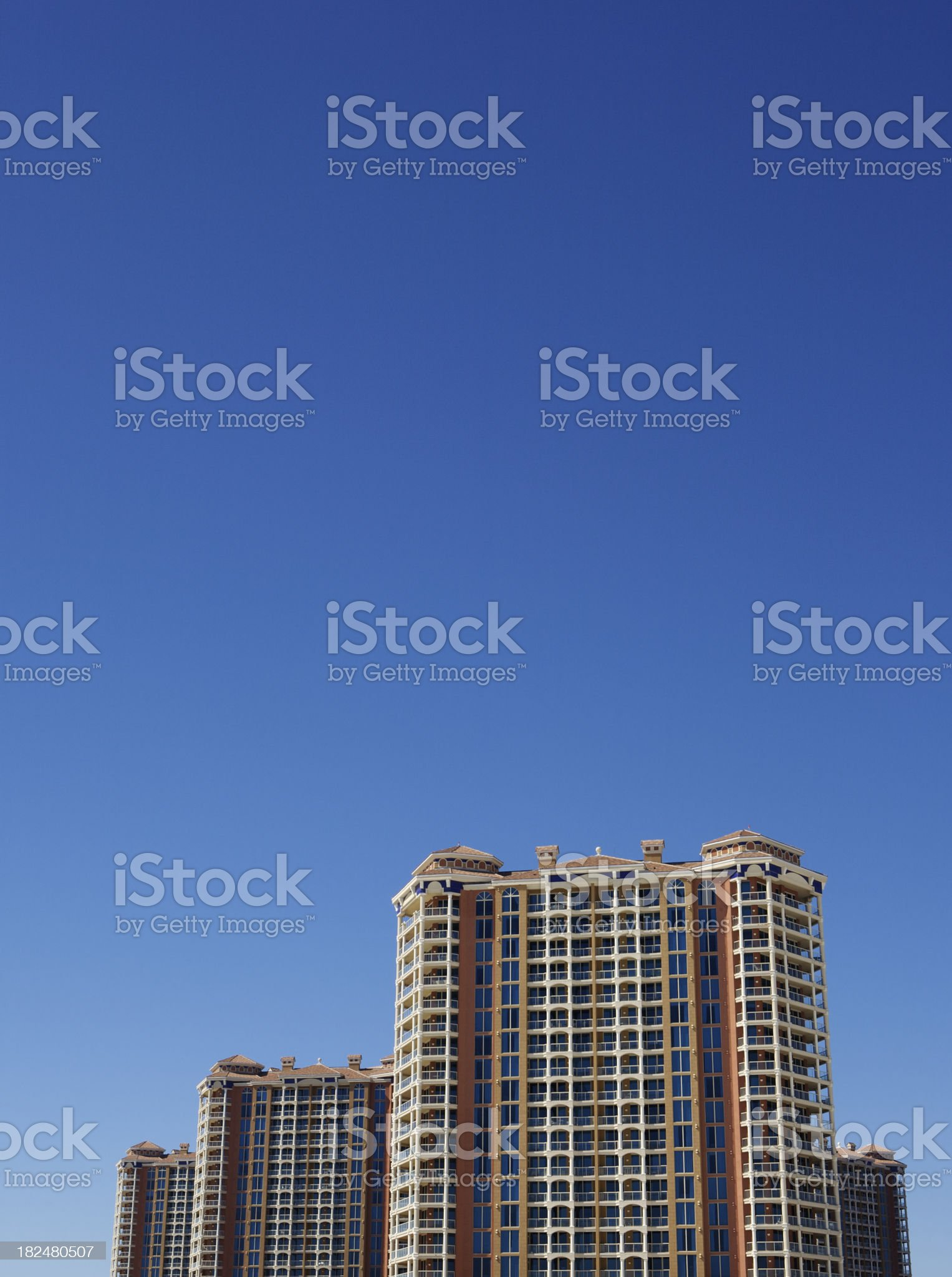 Modern Luxury Condominiums royalty-free stock photo