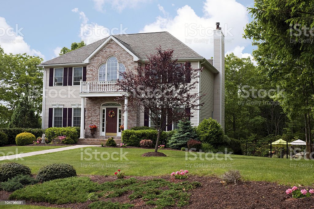 Modern Luxury Home stock photo