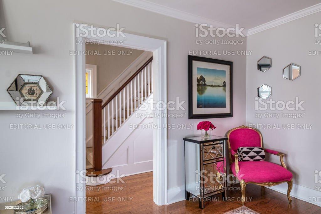 Modern Main floor Interior stock photo