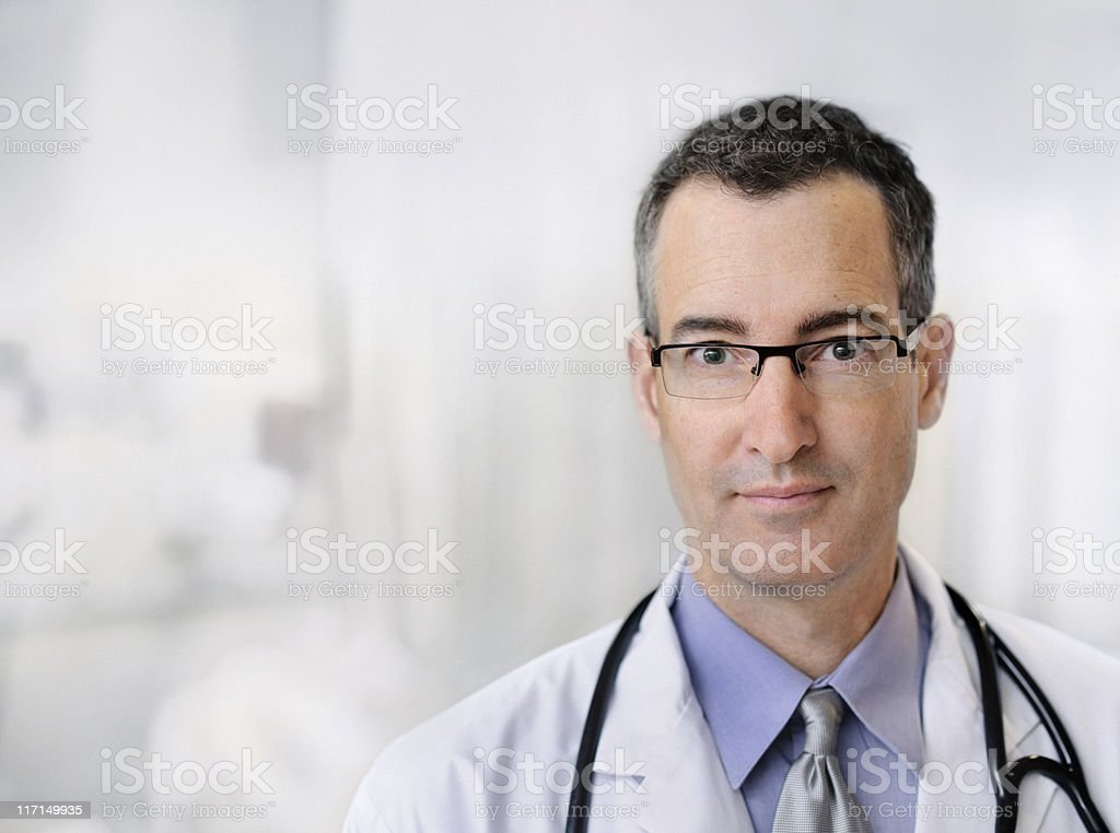 Modern Male Doctor royalty-free stock photo