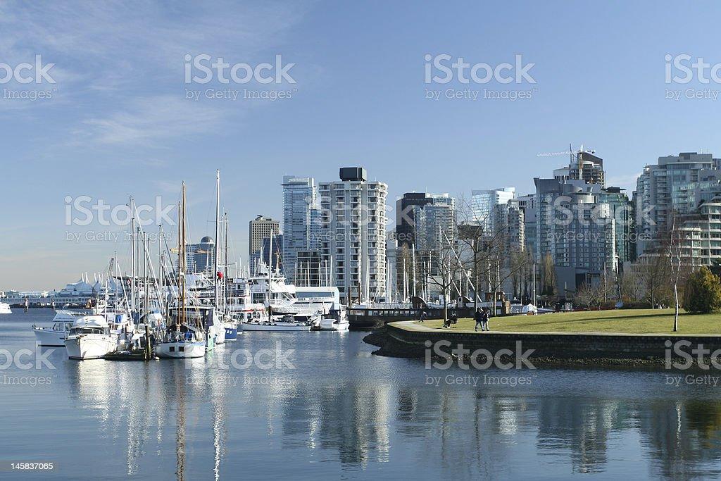 Modern Maritime City royalty-free stock photo