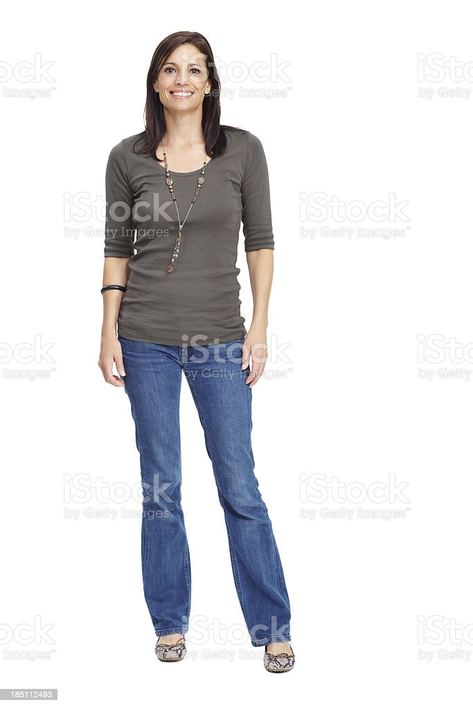 Modern, mature and confident stock photo