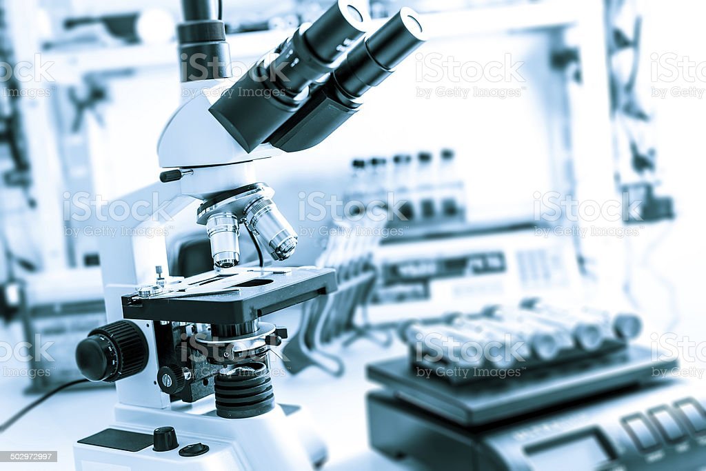Modern medical laboratory royalty-free stock photo