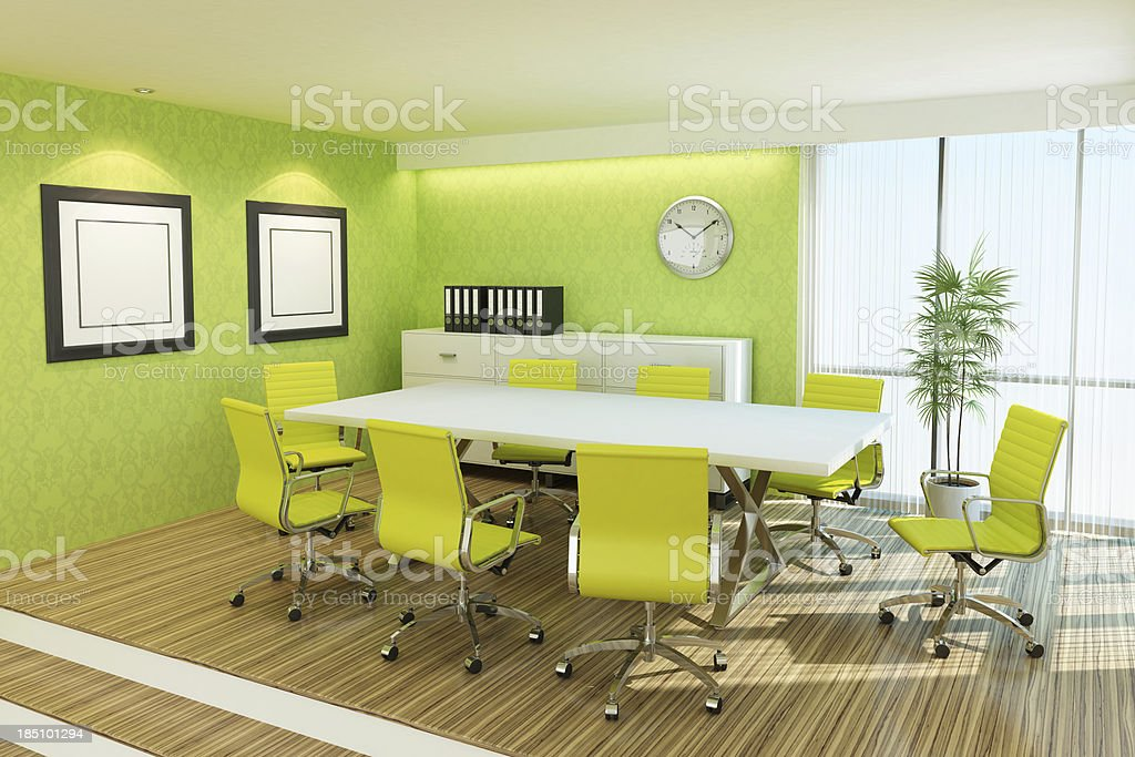 Modern Meeting Room royalty-free stock photo