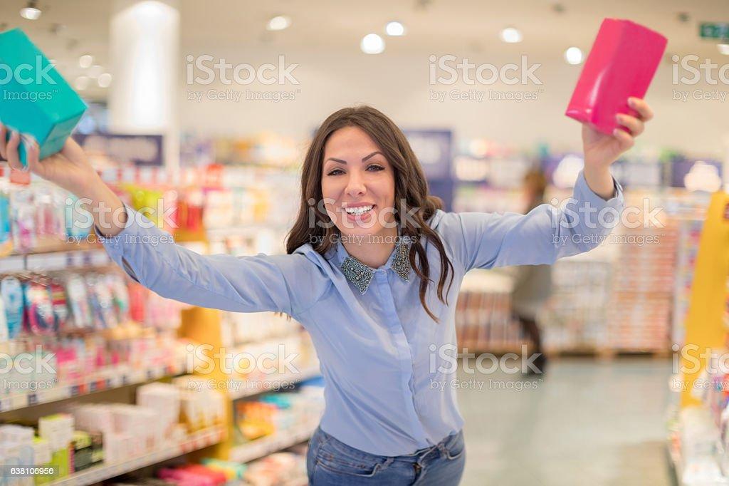 Modern menstration stock photo