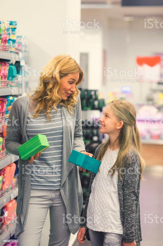 Modern Menstruation stock photo