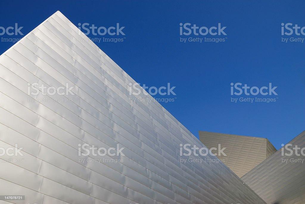 Modern Metal Building stock photo