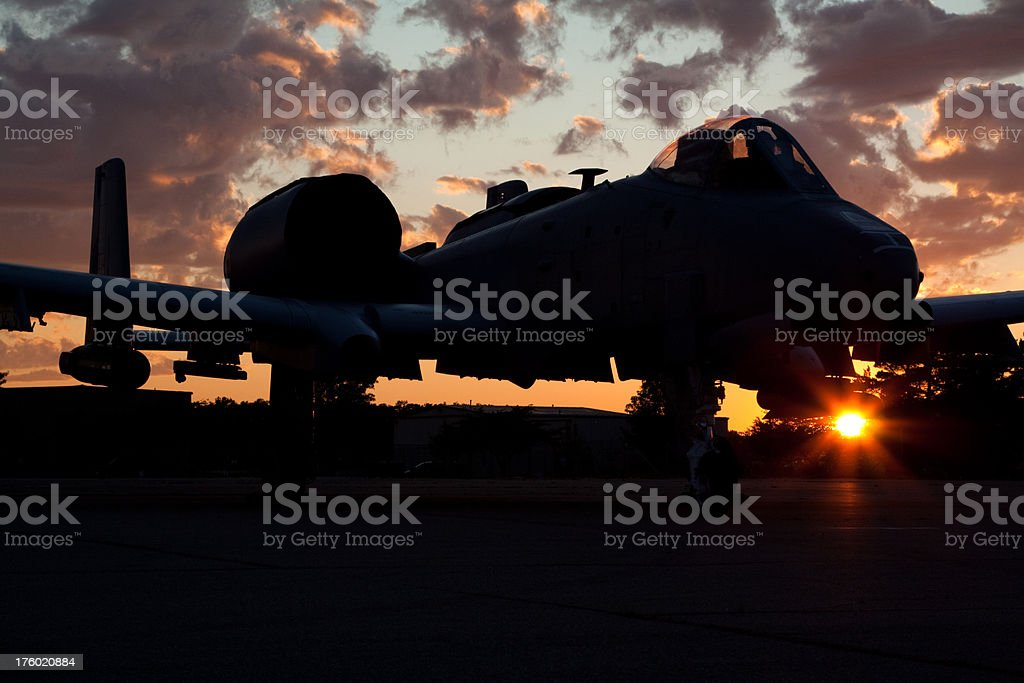Modern Military Airplane royalty-free stock photo