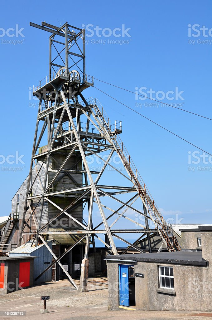 Modern Mine stock photo