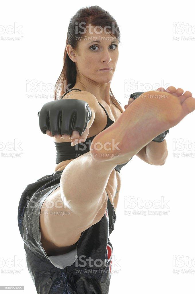 Modern mixed martial arts royalty-free stock photo
