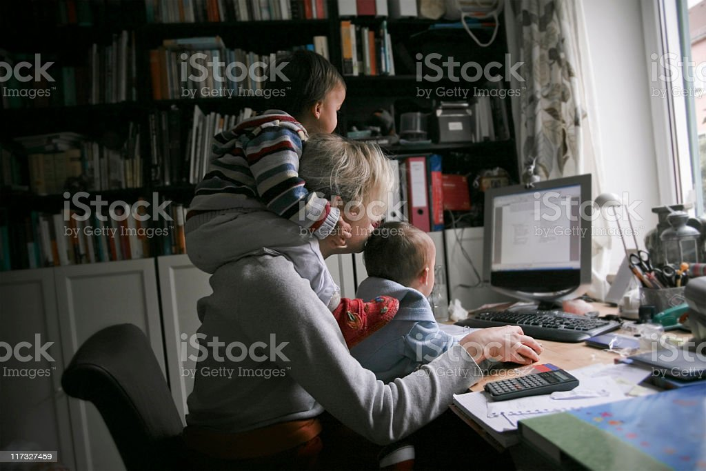 Modern Mother stock photo