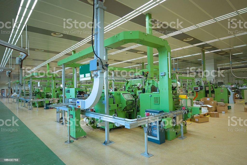 Modern new warehouse/factory royalty-free stock photo