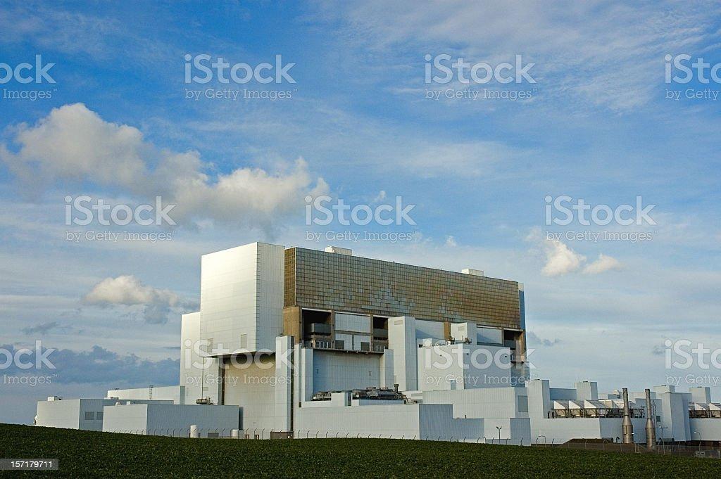 Modern Nuclear Power stock photo