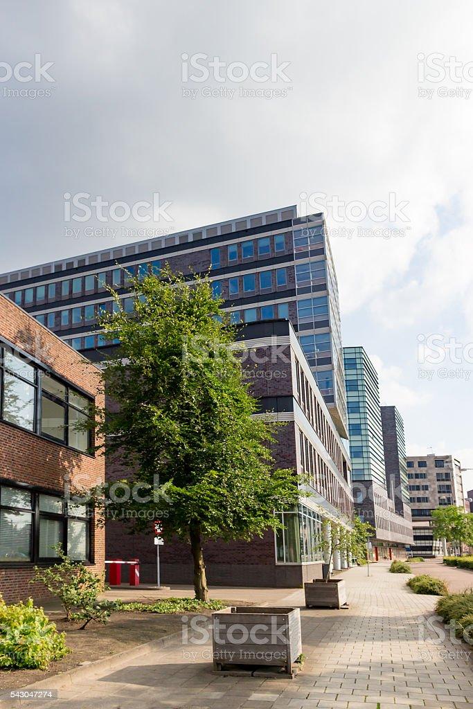 Modern Office blocks stock photo