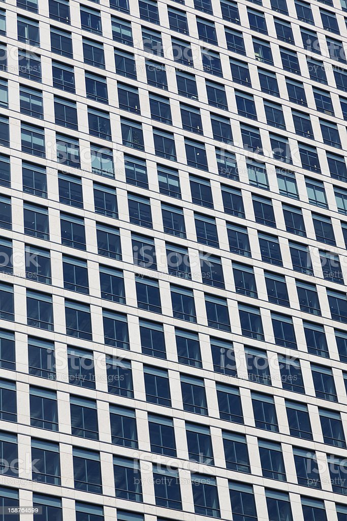 Modern Office Building Exterior Detail stock photo