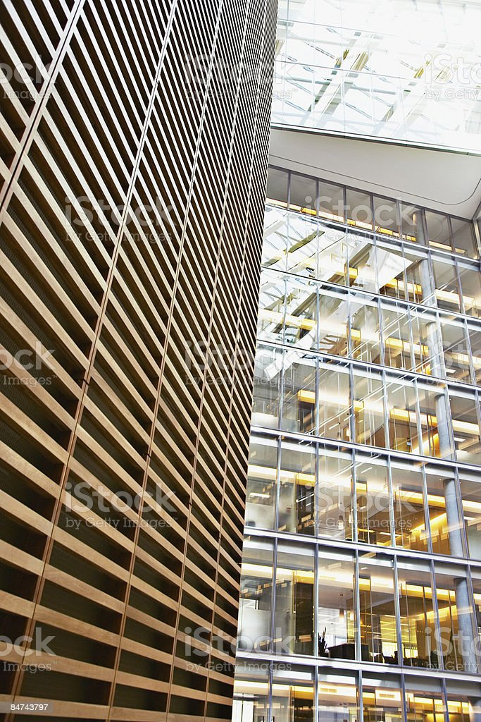 Modern office building exterior royalty-free stock photo