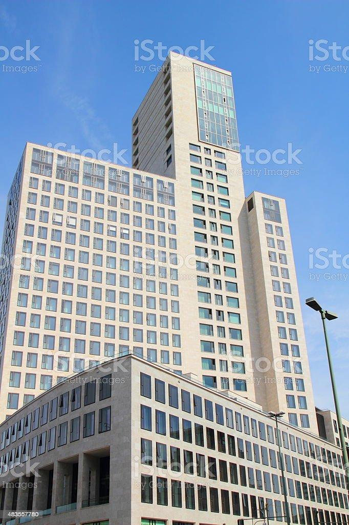 modern office building in berlin stock photo