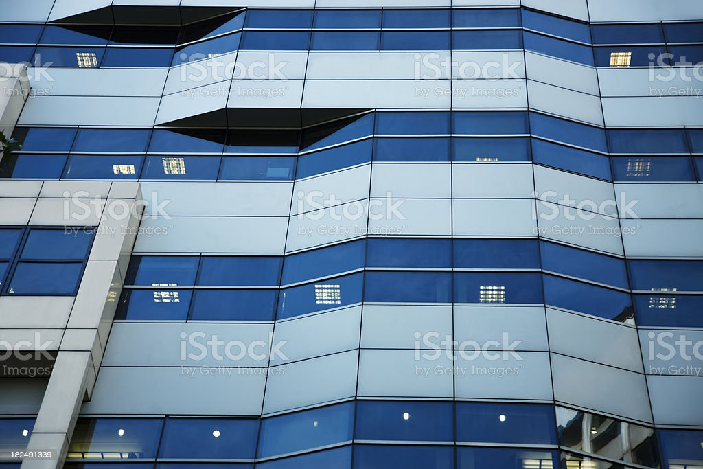 Modern Office Building in London royalty-free stock photo