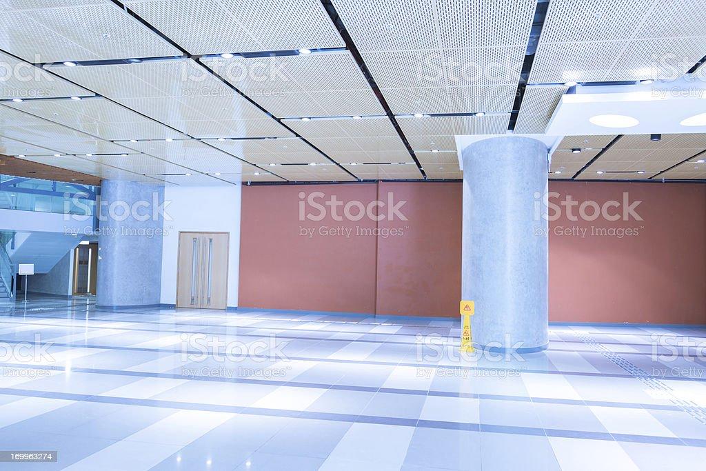 Modern Office Building Lobby royalty-free stock photo