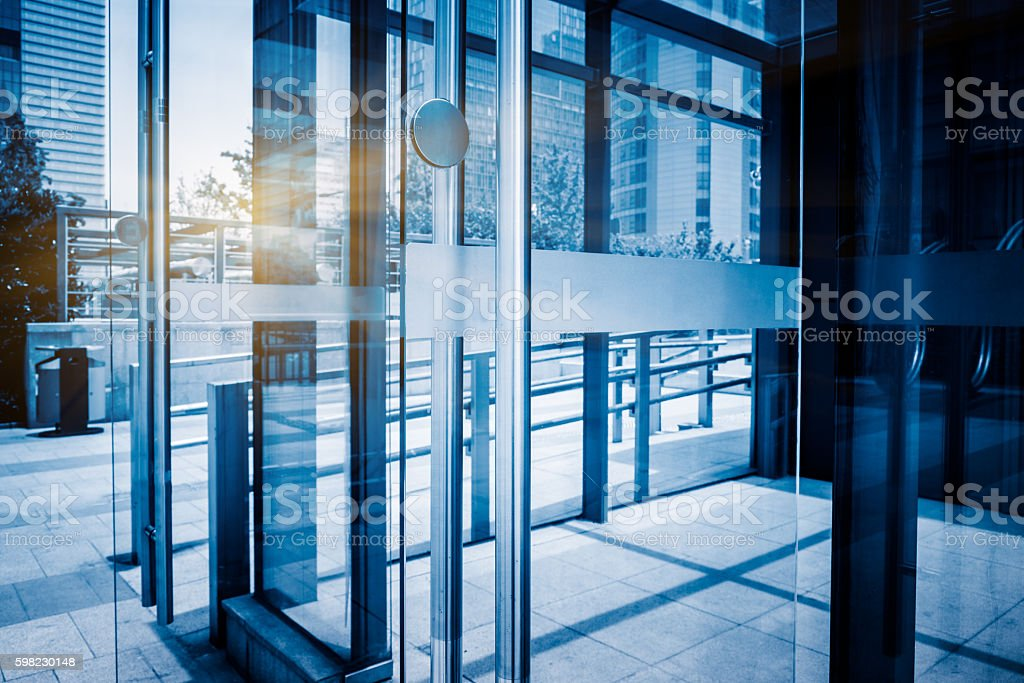modern office building stock photo
