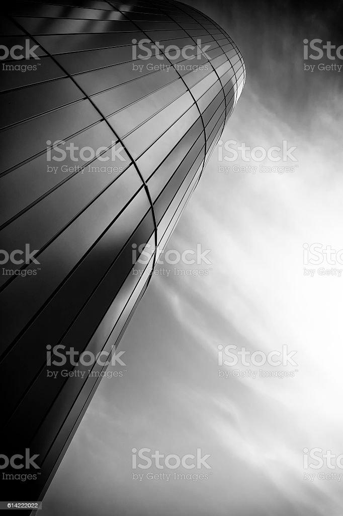 Modern office building. stock photo
