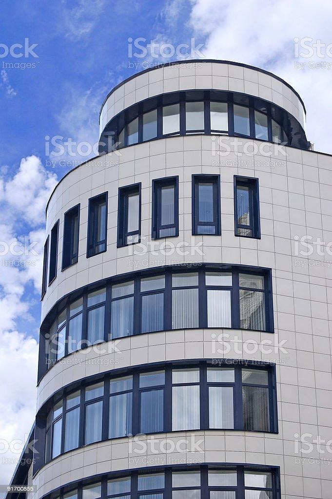 Bâtiment moderne de bureau photo libre de droits