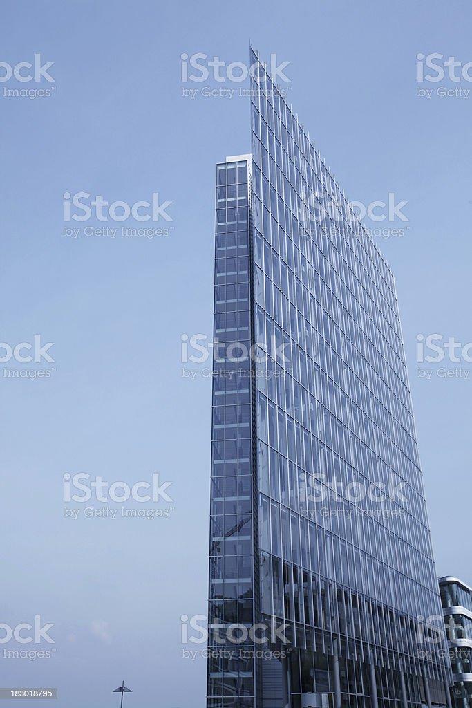 Modern office building skyscraper royalty-free stock photo
