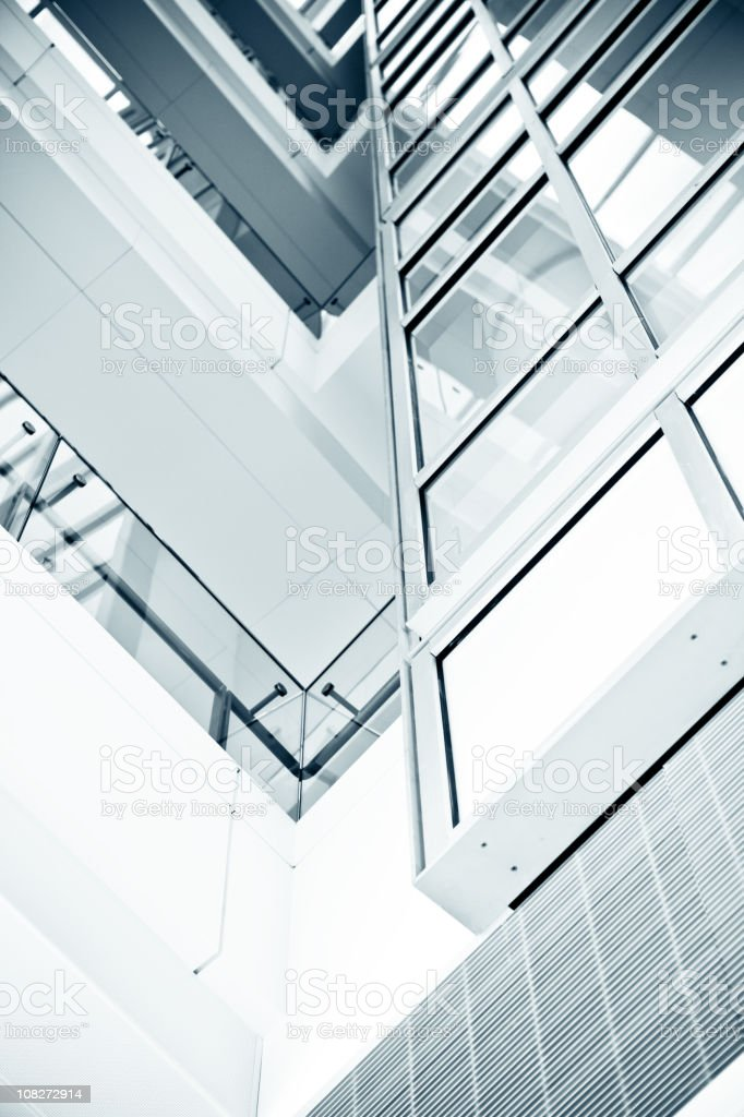 Modern Office Building Windows royalty-free stock photo