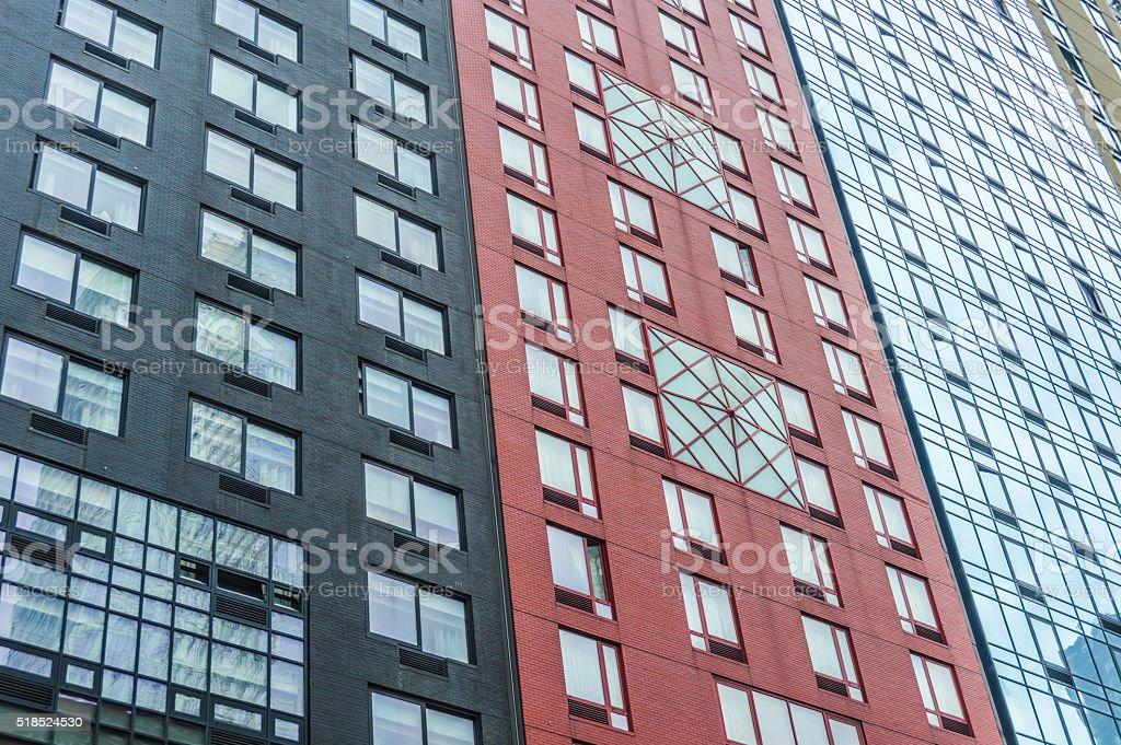 Modern office buildings - New York City stock photo